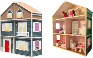 MyGirlsDollHouse Country French