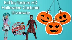 KidToyTestersHD Halloween Costume Giveaway