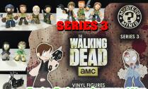 the walking dead series 3 mystery mini funko figurines