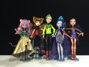 Monster High  Boo York Luna Mothews  Mouscedes King  Cleo De Nile  Deuce Gorgon  Elle Edee