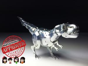trex, metal dinosaur, owi robot, tyrannosaurus