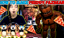 FNAF-Freddy-DIY--How-to-make-Freddy-Fazbear-Plushie-