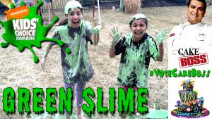 Nickelodeon-green-slime-cake-boss-BTS-tour