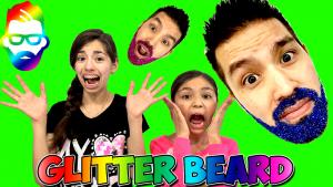glitter-beard-challenge-kidtoytesters-youtube-cover7