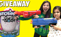 hatchimals-giveaway-and-nerf-battle