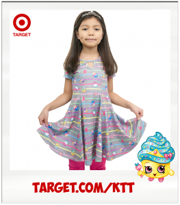 Kimi Cupcake Queen Target Shopkins Dress