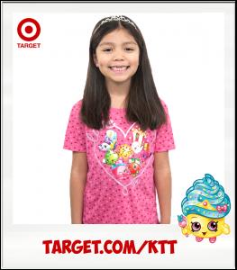 Kimi Cupcake Queen Target Shopkins t-shirt