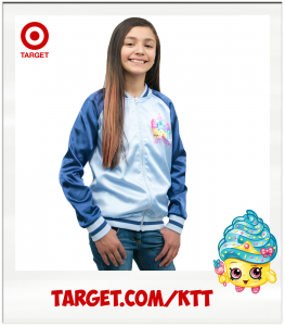 Sachi Cupcake Queen Target Shopkins reversible jacket