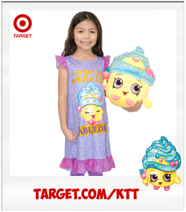 Kimi Cupcake Queen Target Shopkins nightgown