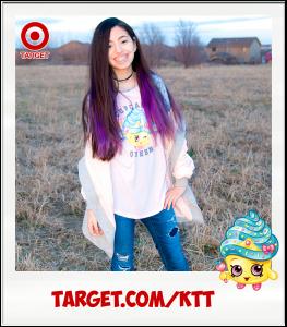 Yumi Cupcake Queen Target Shopkins t-shirt