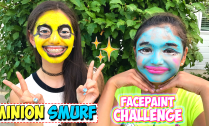 minion-smurf-facepaint-makeup-tutorial