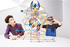 K'NEX Thrill Rides Bionic Blast™ Roller Coaster Building Set