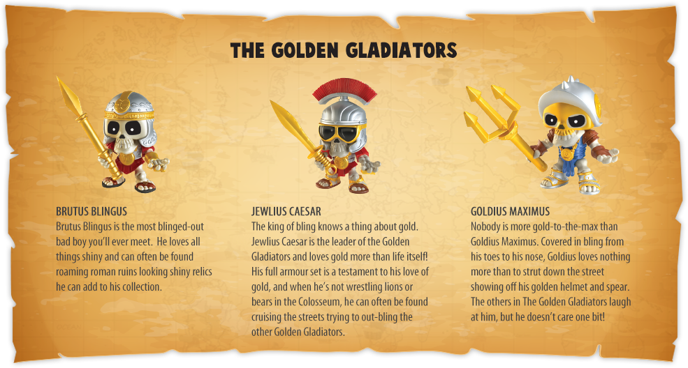 The Golden Gladiators