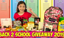 back 2 school giveaway 2019