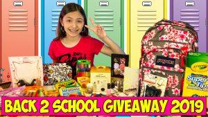 back 2 school giveaway 2019